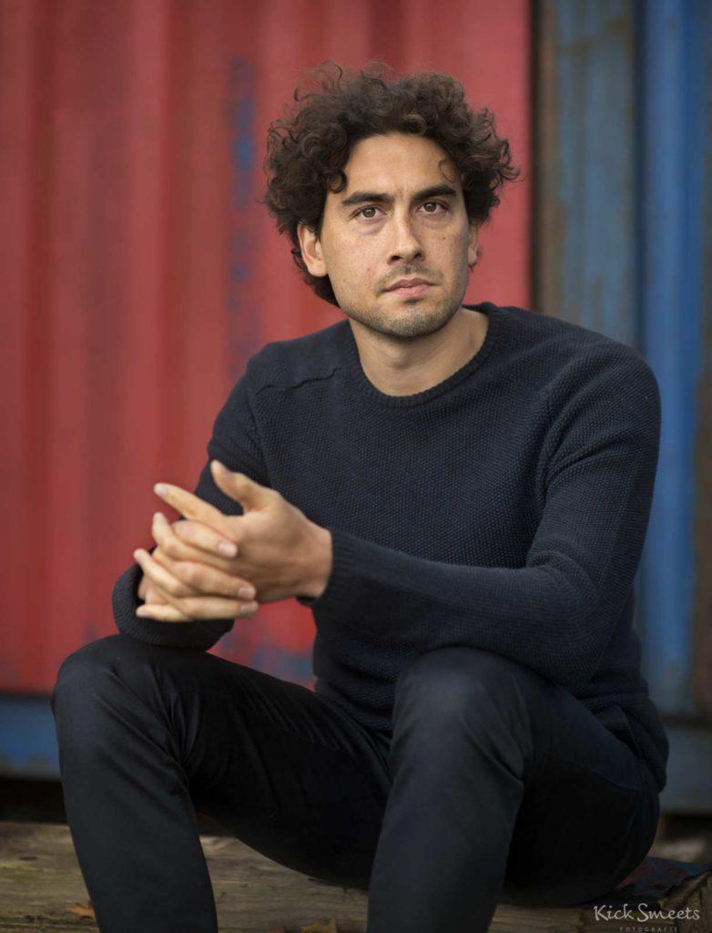 Bo Tarenskeen, acteur, scenarioschrijver, Amsterdam