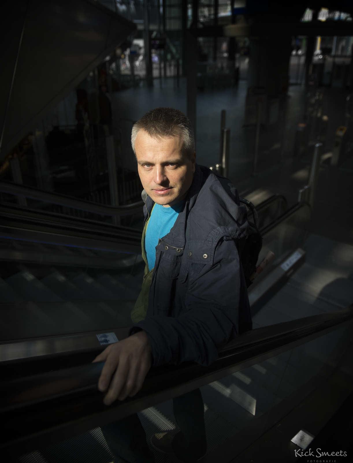 Joris Luyendijk, onderzoeksjournalist en antropoloog, Amsterdam