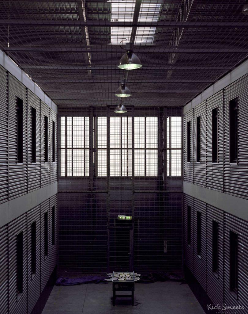 Ontspanningsruimte in uitzetcentrum Rotterdam Airport
