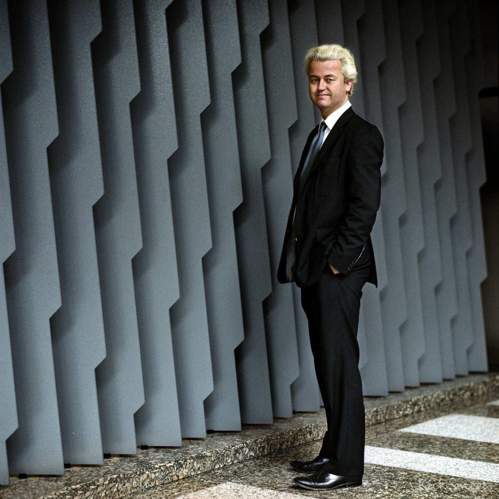 Partijleider PVV Geert Wilders, Den Haag