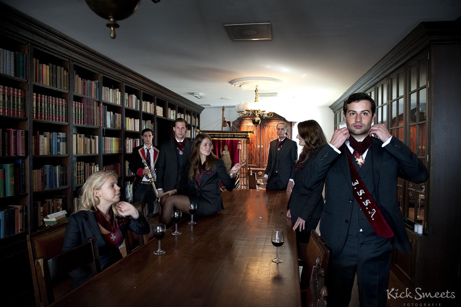 Het bestuur van het Amsterdams Studenten Corps