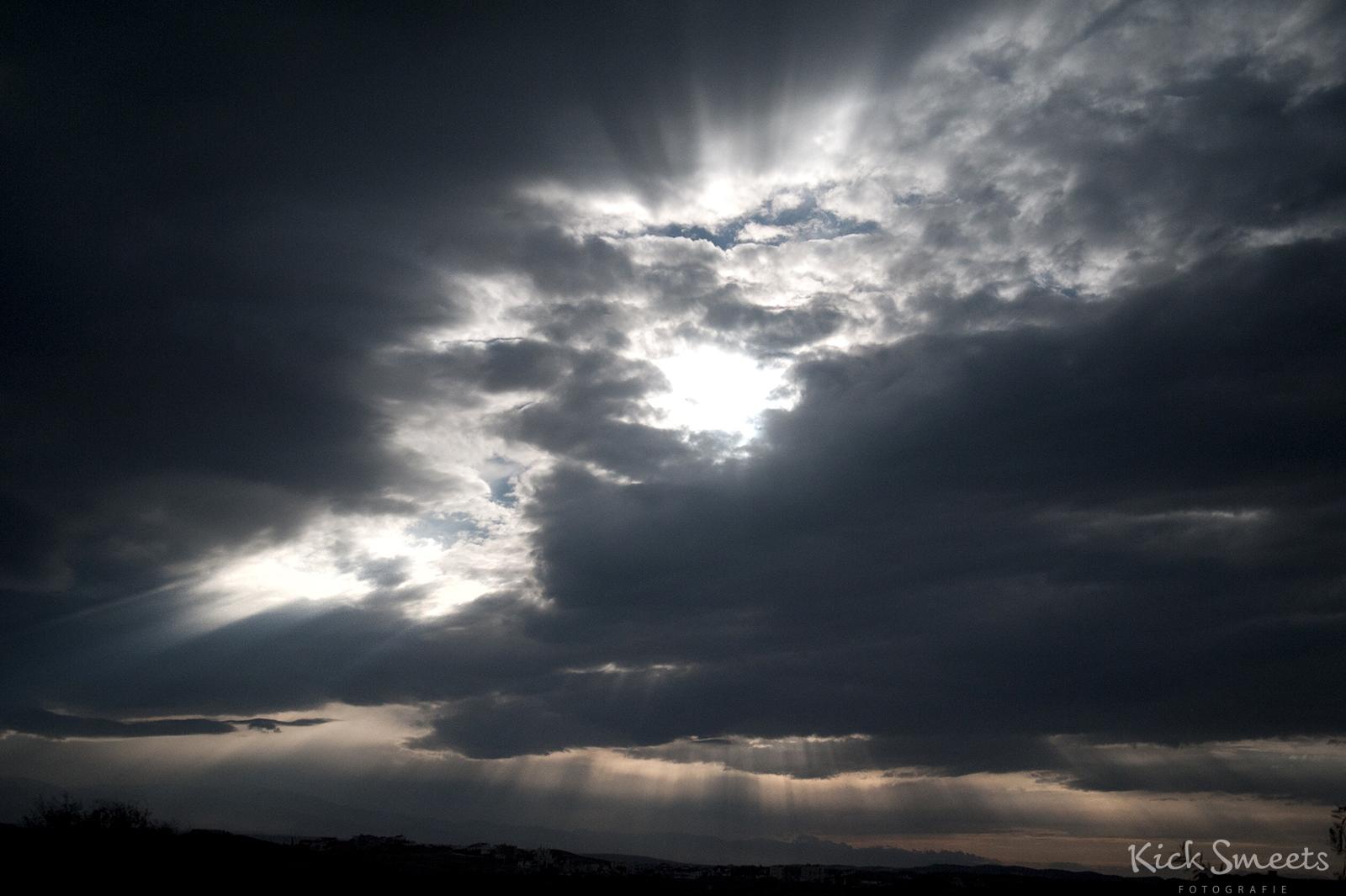 Wolkenlucht, Levkosa, Cyprus