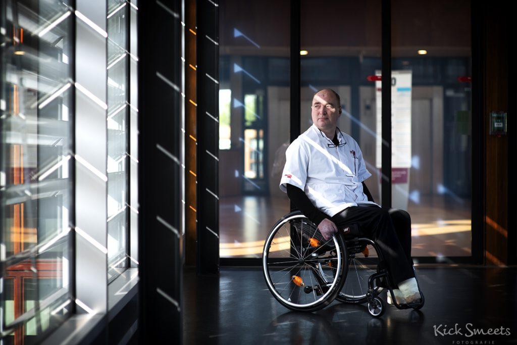 Frank Wille, leed aan een besmetting met de meningokokkenbacterie, Amsterdam